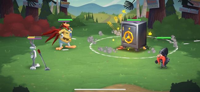 Looney バトル画面