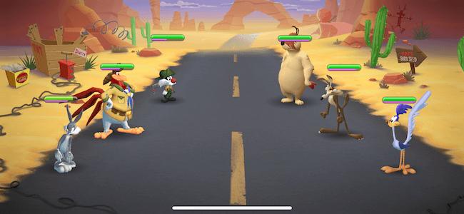 Looney 海外アニメキャラのRPG