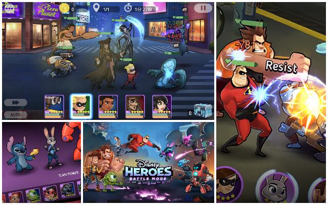 Disney Heroes: Battle Modeのイメージ