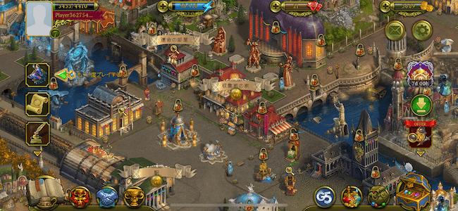 ヒドゥンシティ ホーム画面