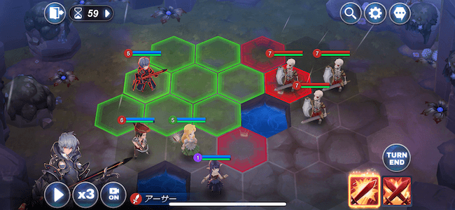 キンヒロ 戦略バトルRPG