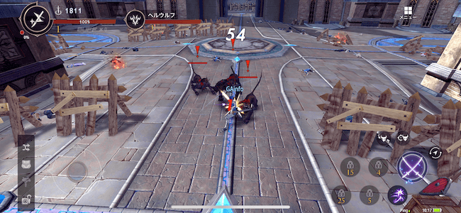 幻想神域2 攻撃