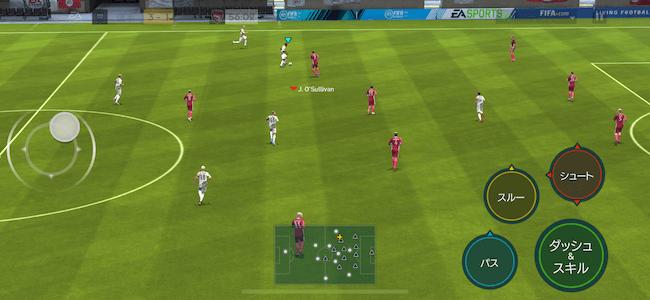 FIFA スマホサッカーアプリ